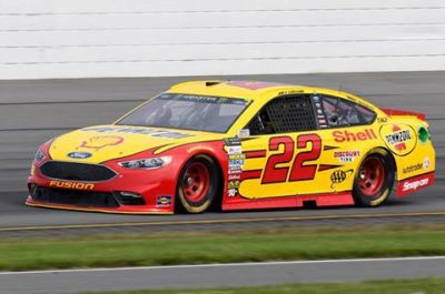 Joey Logano's #22 at Pocono  (JoeyLogano.com Photo)