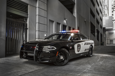 The 2018 Dodge Charger Police Pursuit vehicle.  (FCA Photo)