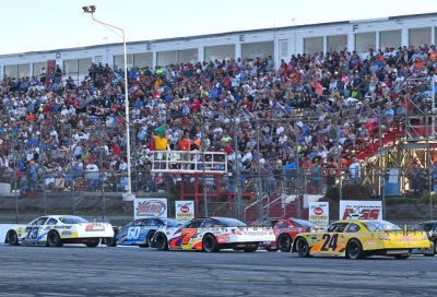 The start of the 2016 Oxford 250.  (PASS/Norm Marx Photo)