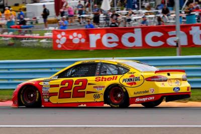 Logano's #22 Ford at Watkins Glen  (Joey Logano Facebook Page Photo)