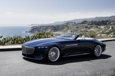 The Mercedes-Maybach 6 Cabriolet  (MB USA Photo)