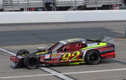 Anthony Nocella's #92 Modified.  (Mike Twist Photo)