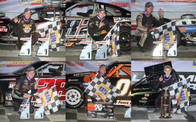 The winners at Stafford on August 25th.  (SMS Photo)