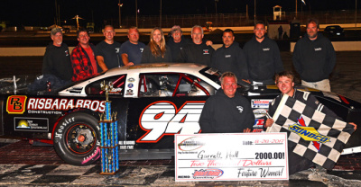 Garrett Hall Wins on the Night Before the Oxford 250