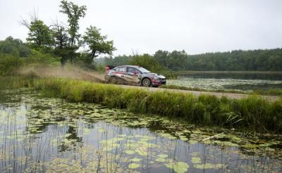 Travis Pastrana at work.  (Subaru Photo)