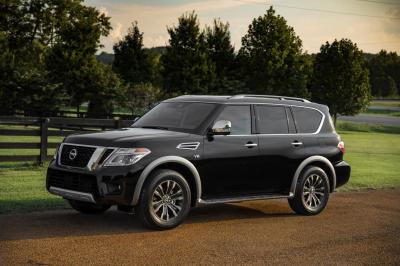 The 2018 Nissan Armada  (Nissan Photo)