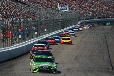 The July race at NHMS drew plenty of fans to the track.  (NASCAR Photo)