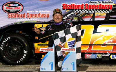 Tom Fearn in victory lane.  (SMS Photo)