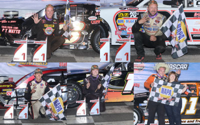 TC, Reen, Rufrano, Fearn and Walker Win at Stafford