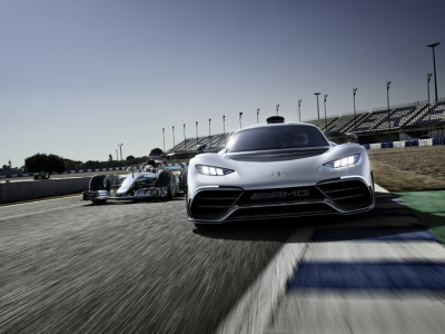 The Mercedes-AMG Project ONE.  (MB USA Photo)