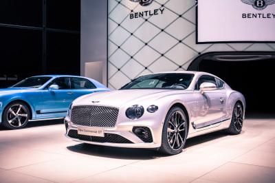 The new Bentley Continental GT.  (Bentley Photo)