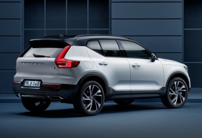 The new Volvo XC40.  (Volvo Photo)