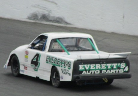 The #4 Everett's Auto Parts Truck from this seasona t Seekonk.  (Mike Twist Photo)