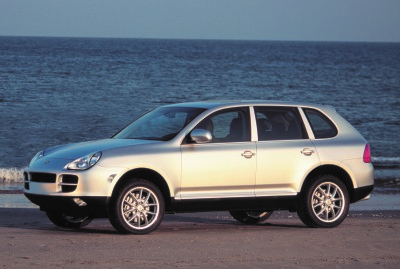 The 2003 Porsche Cayenne  (Porsche of N.A. Photo)