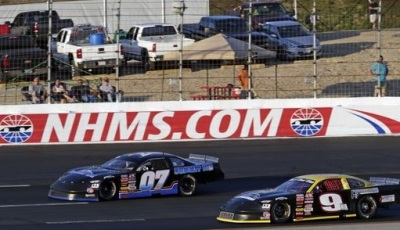 Woody Pitkat's #07 ended up in victory lane at NHMS.  (NHMS Photo)