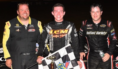 The podium finishers at White Mountain.  (PASS Photo)