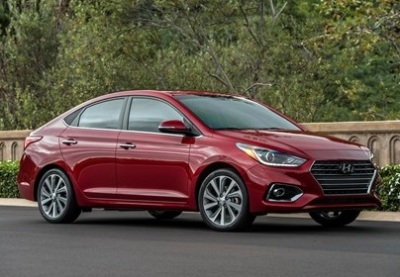 The 2018 Hyundai Accent.  (Hyundai Photo)