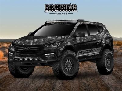 The Hyundai Rockstar Energy Moab Santa Fe Concept.  (Hyundai Photo)