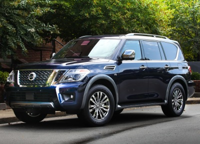 The 2018 Nissan Armada Platnum Reserve.  (Nissan Photo)