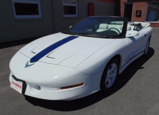 1994 Pontiac Firebird Trans-Am GT Convertible.  (CarGurus.com Photo)