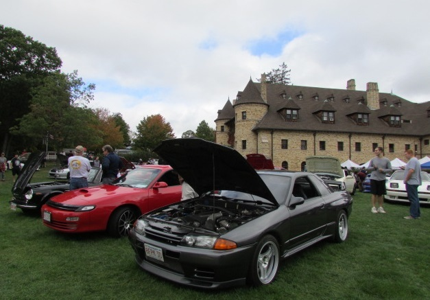 Skylines were just one of the models that could be seen at the Lawn Show.  (Mike Twist Photo)