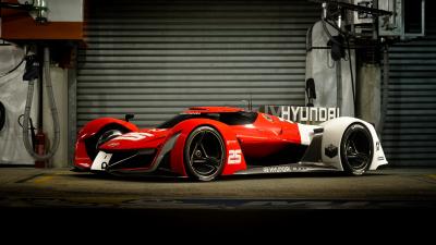 The N 2025 Vision Gran Turismo.  (Hyundai Photo)
