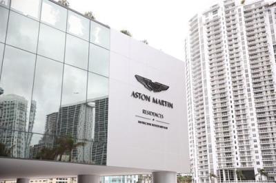 The Aston Martin Residences in Miami.  (Aston Martin Photo)