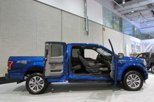The door latches of your F-150 might need some extra protection.  (Mike Twist Photo)