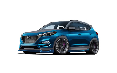 Hyundai Teams With Vaccar For Tucson Sport Concept