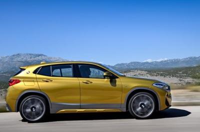 The new BMW X2.  (BMW Photo)
