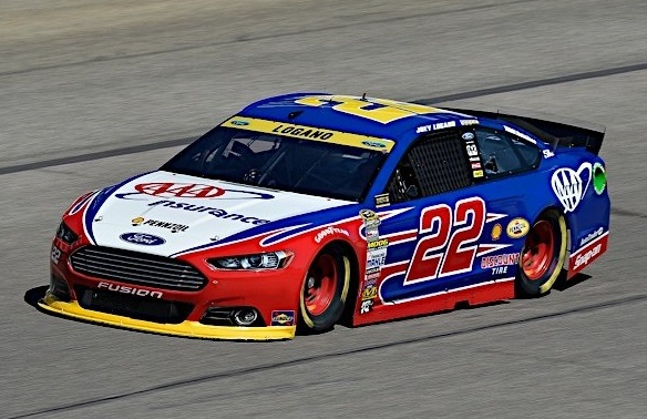 The #22 AAA Ford.  (JoeyLogano.com Photo)