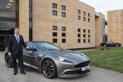 Aston Martin's Dr. Andy Palmer  (Aston Martin Photo)