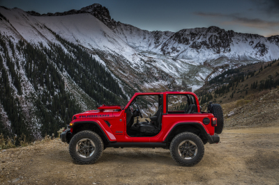 A preview of the new Jeep Wrangler  (FCA Photo)