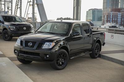 The Nissan Frontier Midnight Edition.  (Nissan Photo)