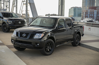 The Nissan Frontier Midnight Edition.  (Nissan Photo)
