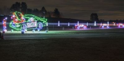 The NHMS Gift of Lights.  (NHMS Photo)
