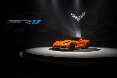 The 2019 Corvette ZR-1.  (General Motors Photo)