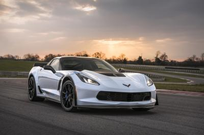 The 2018 Corvette Carbon 65 Edition Coupe.  (GM Photo)