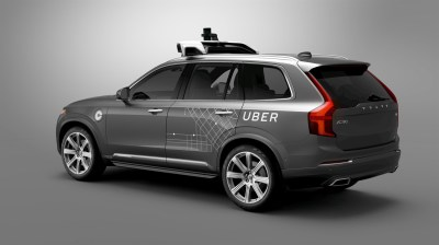 Your future Uber ride might be in a Volvo without a driver.  (Volvo Photo)