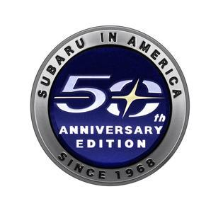 Subaru Makes Plans for 50th Anniversary Editions