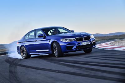 The 2018 BMW M5.  (BMW Photo)