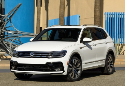 The 2018 Volkswagen Tiguan R-Line.  (VW Photo)
