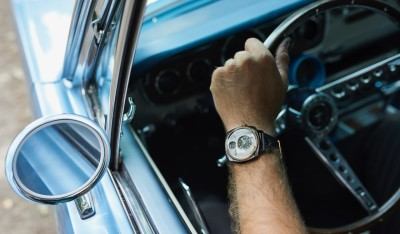 Recycled Ford Mustangs Become High End Watches