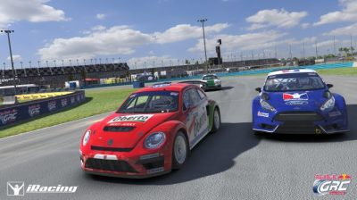 iRacing Red Bull Global Rallycross  (red Bull GRC Photo)