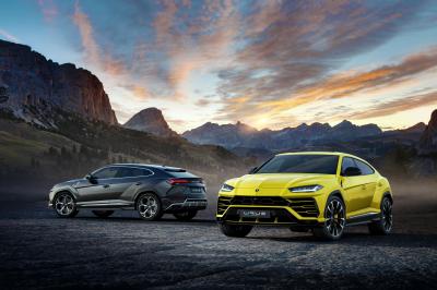 The new Lamborghini Urus.  (Lamborghini Photo)