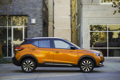 The upcoming Nissan Kicks.  (Nissan Photo)