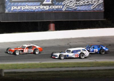 A trio of vintage Modifieds  (Vintage All Star Event Photo)