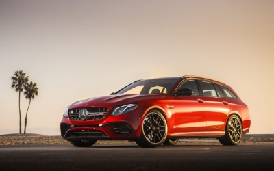 The 2018 Mercedes-Benz AMG E63 S Wagon  (MBUSA Photo)