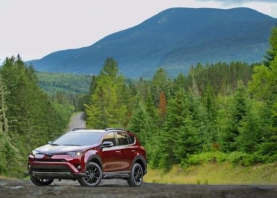 The Toyota RAV4 Adventure Grade.  (Toyota Photo)