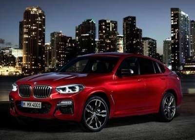 The 2019 BMW X4  (BMW Photo)